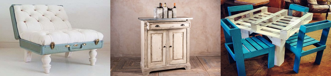 Painted Furniture Home Decorative